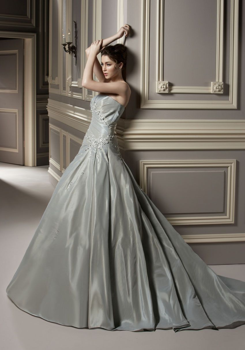 Beauty Gray Theme Weddings Special for You | Wedding Dresses ...
