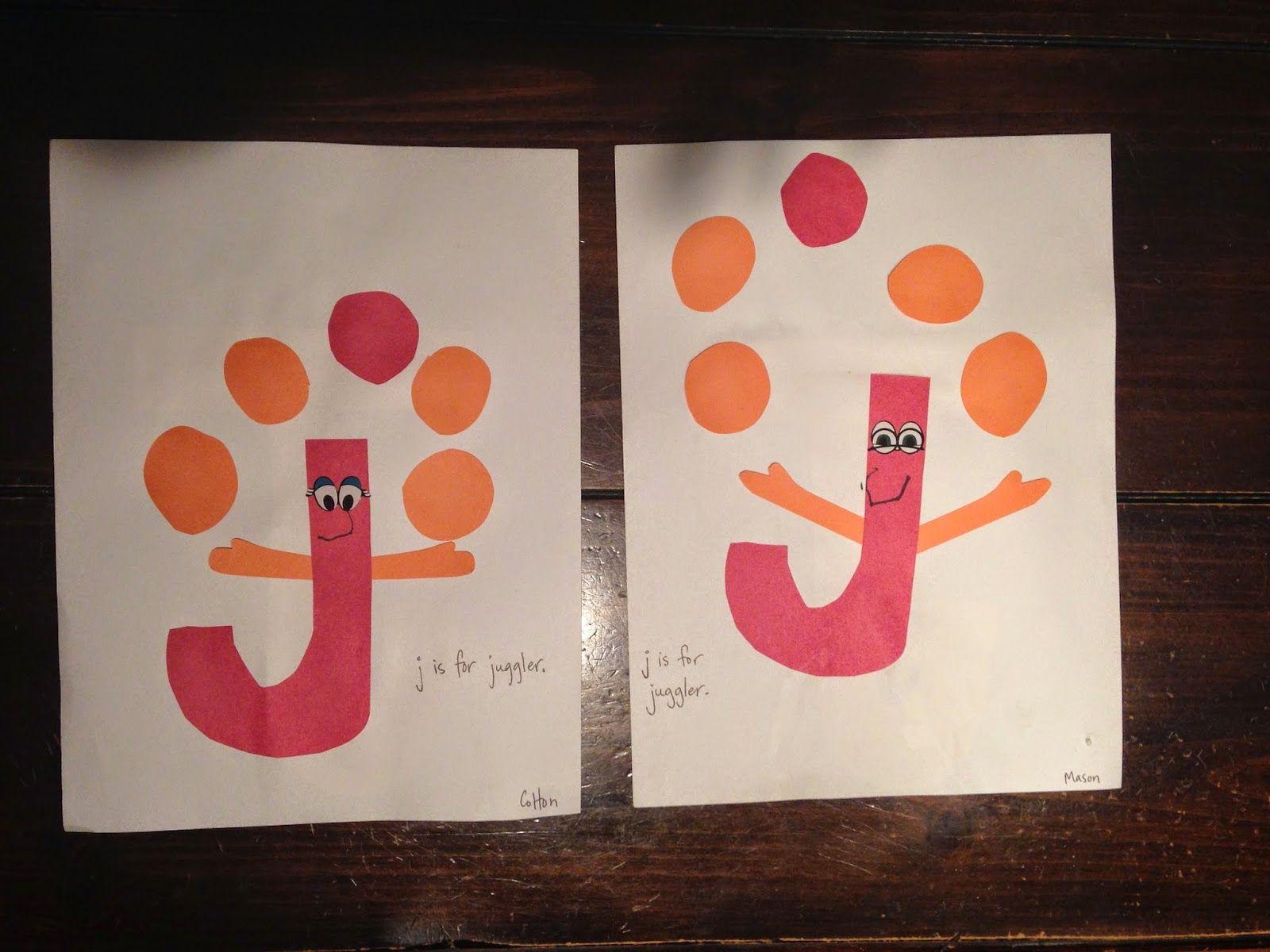 J Is For Juggler