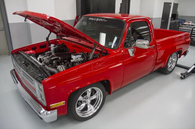 Square Body Vortec Swap