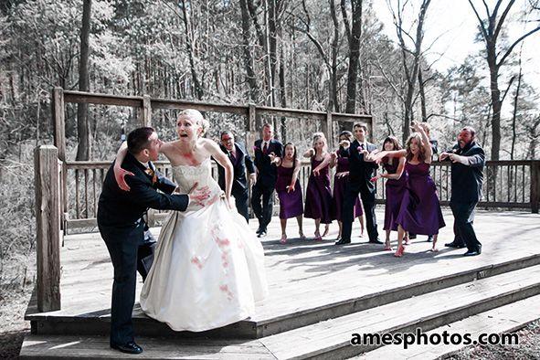 Zombie Wedding Party Weddings Pinterest Zombie Wedding
