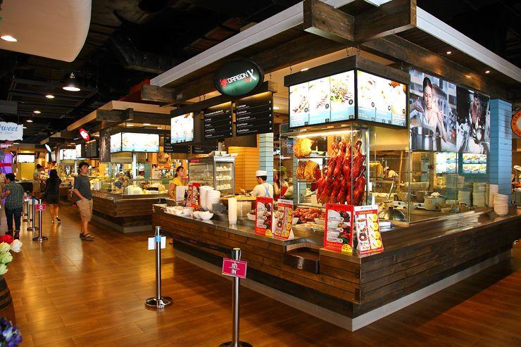 Pier 21 food court terminal 21 bangkok malaysia food