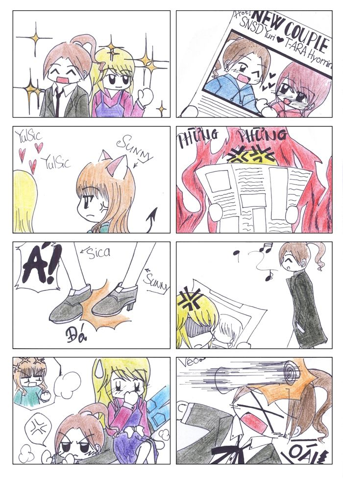 yulsic by Hina aka me #Note: Please read it vertically, 4 frame is a