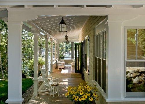 Porch traditional porch Dream home Pinterest Porches, Terrazas