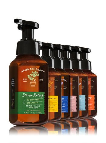 Aromatherapy Essential Aromatherapy 6 Pack Gentle Foaming Soap