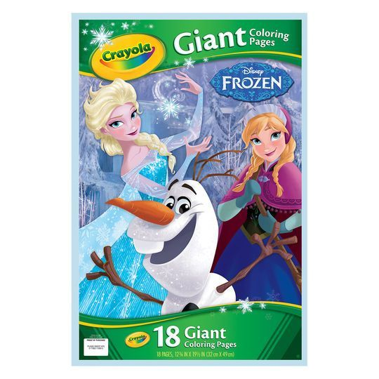 Crayola Disney Frozen 2 Giant Coloring Book Frozen Coloring Pages Frozen Coloring Coloring Books