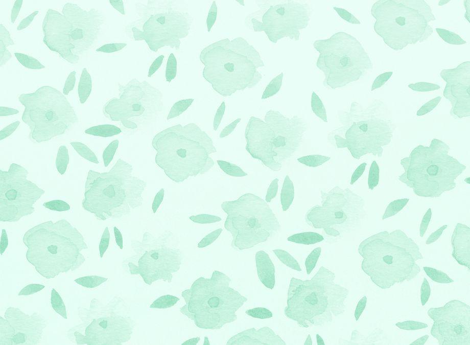 Jenbpeters Flowers2 Jpg Mint Green Wallpaper August Wallpaper Green Aesthetic