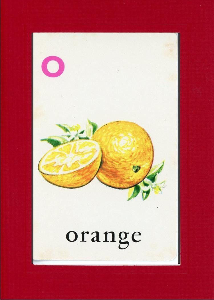 O is for Orange