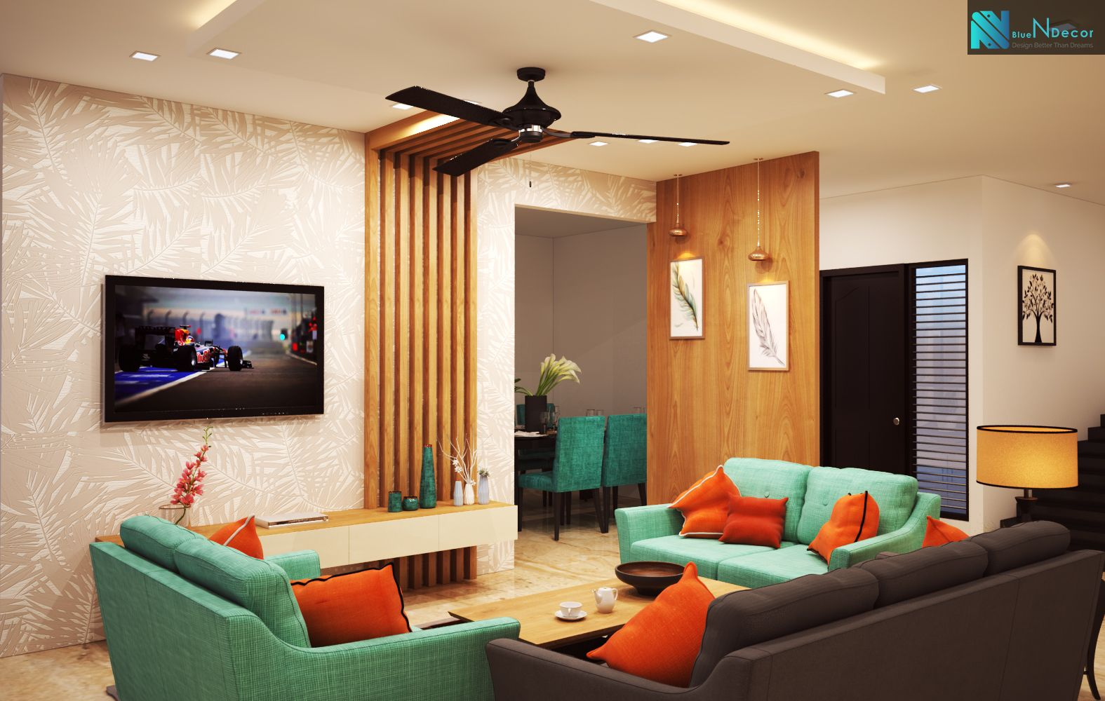 1bhk Interiors For Your Home Bluendecor Best Interior Inte