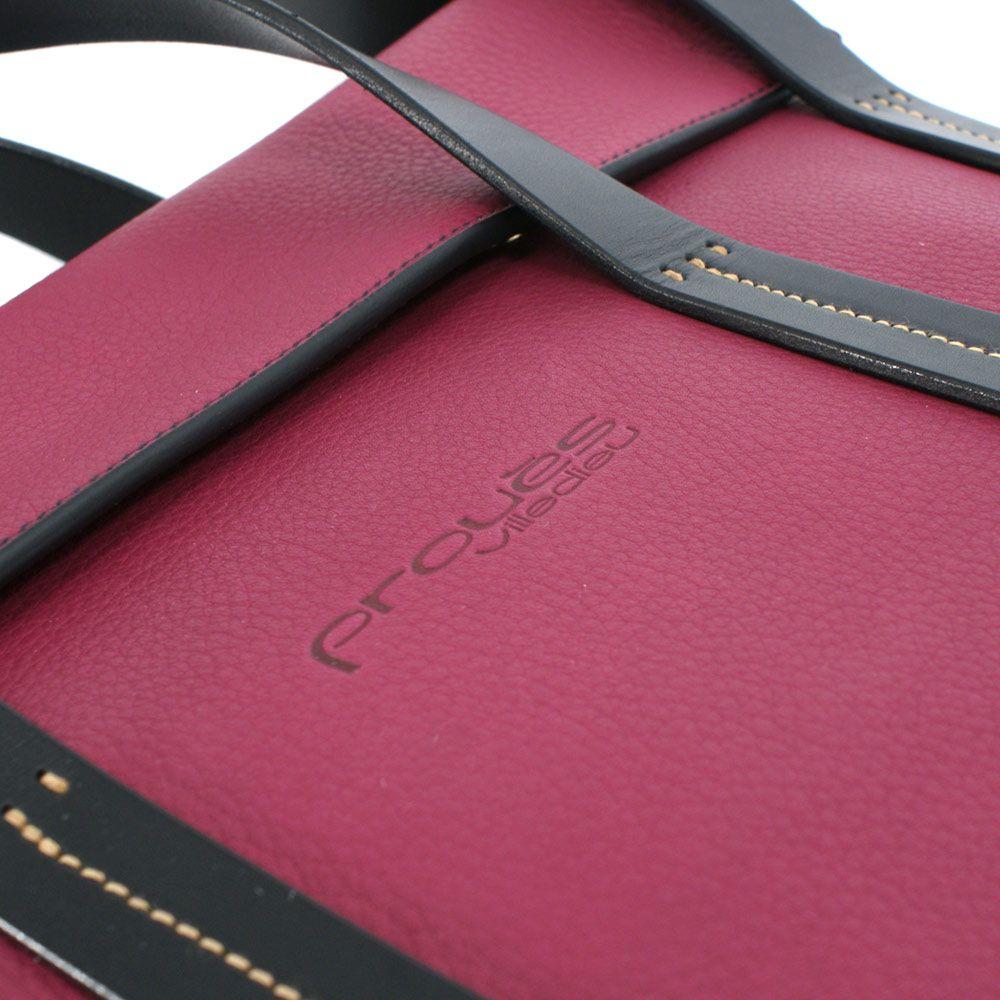 Messenger Epure 36 cm en cuir de Taurillon nubucké Bordeaux. Fabrication  française par un Meilleur 6b59143355f