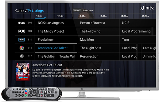 Xfinity X1 Comcast has a new and