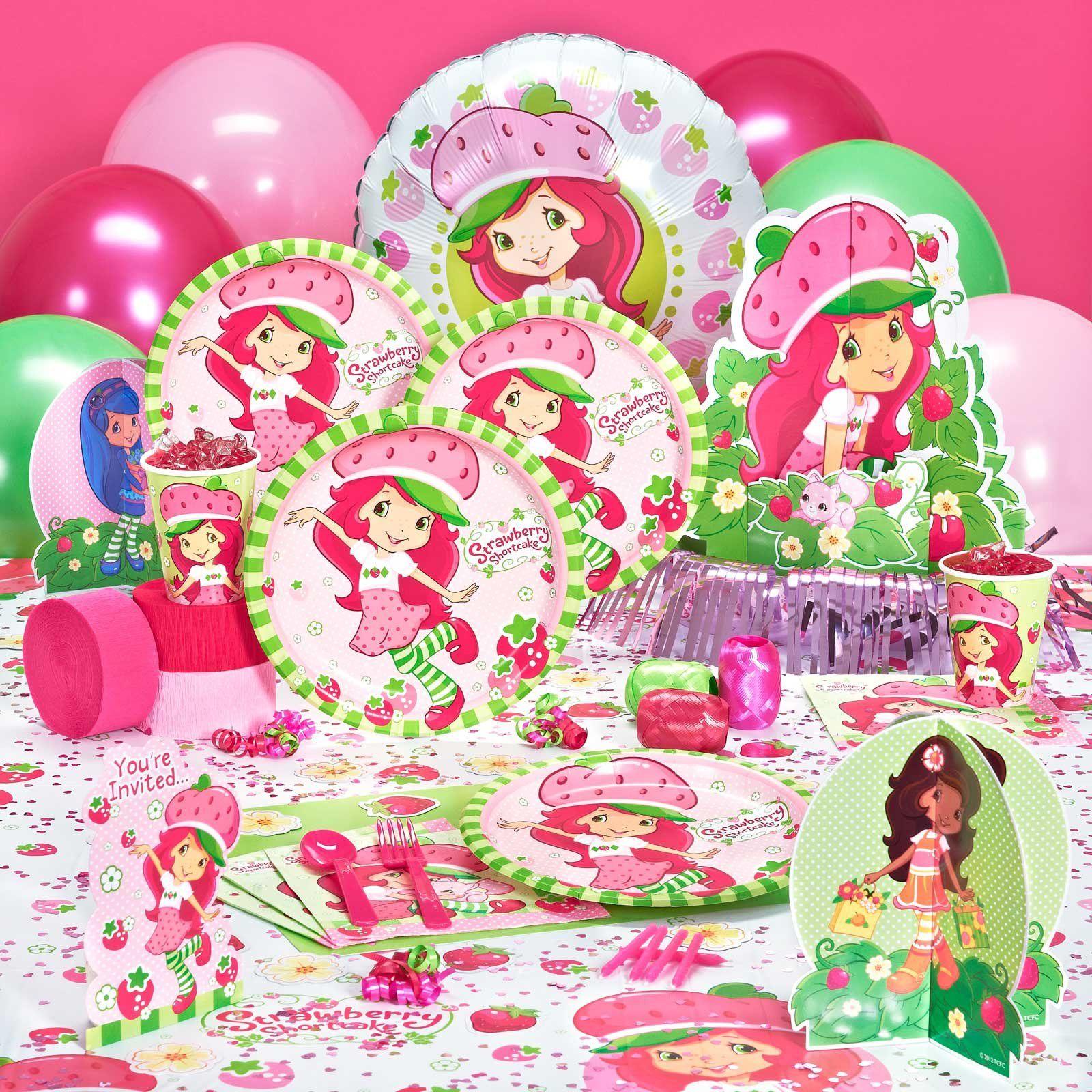 Strawberry Shortcake Birthday Party Supplies