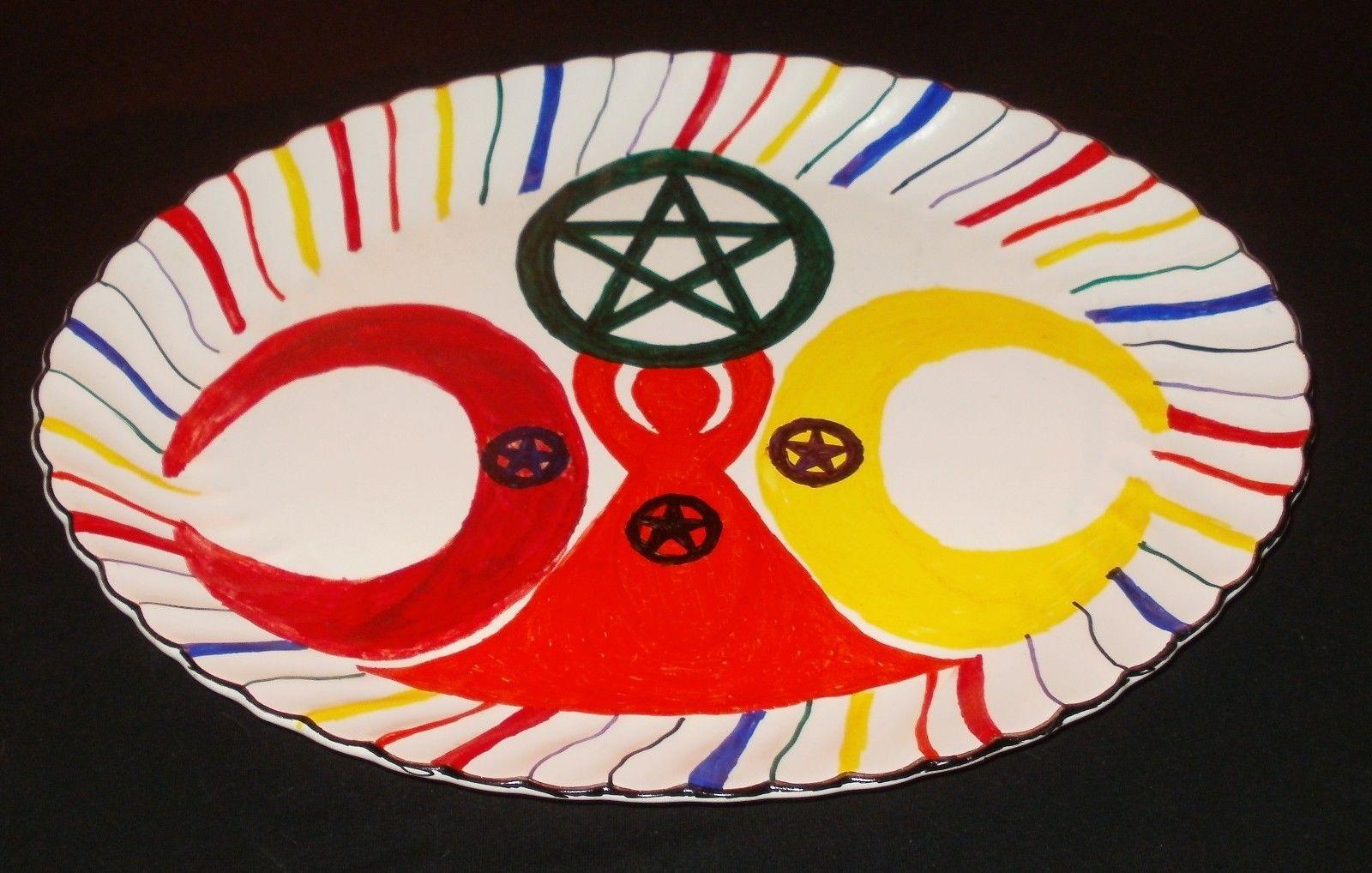 Altar plate 10 x 13 no i do not worship satan pinterest altar plate 10 buycottarizona