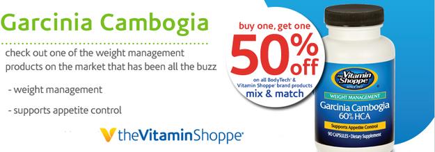 Vitamin shoppe garcinia cambogia 60 hca