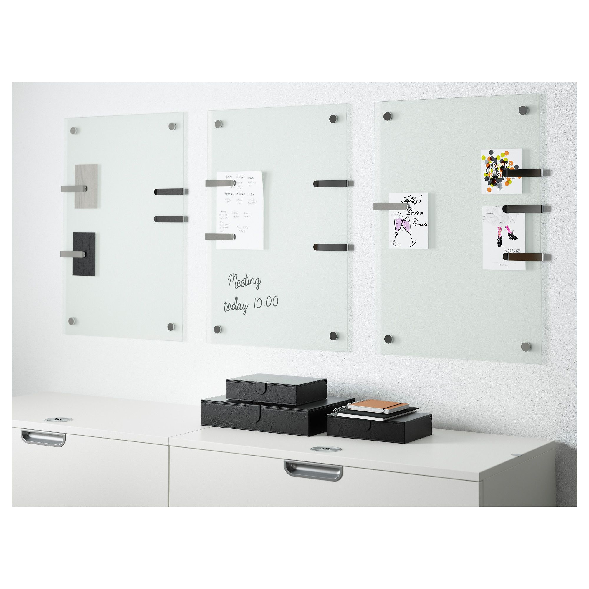 ikea kludd noticeboard preferably use whiteboard pens as they are easy to wipe off for the. Black Bedroom Furniture Sets. Home Design Ideas