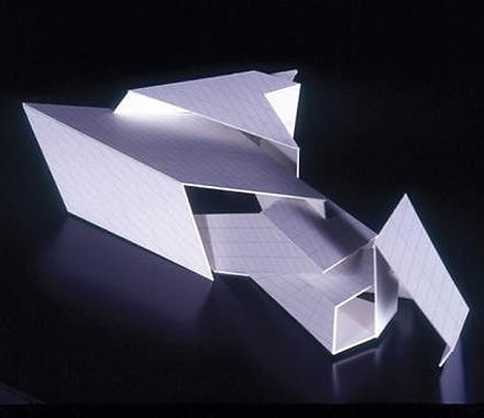 Folding architecture google keres s folding for Pavilion concept architecture
