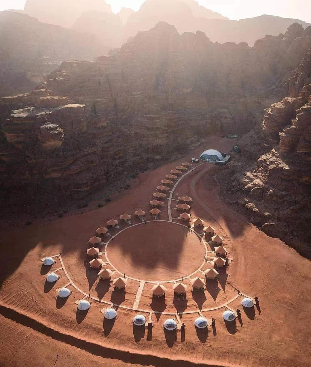 Luxury Camping in Wadi Rum Jordan #wadirum