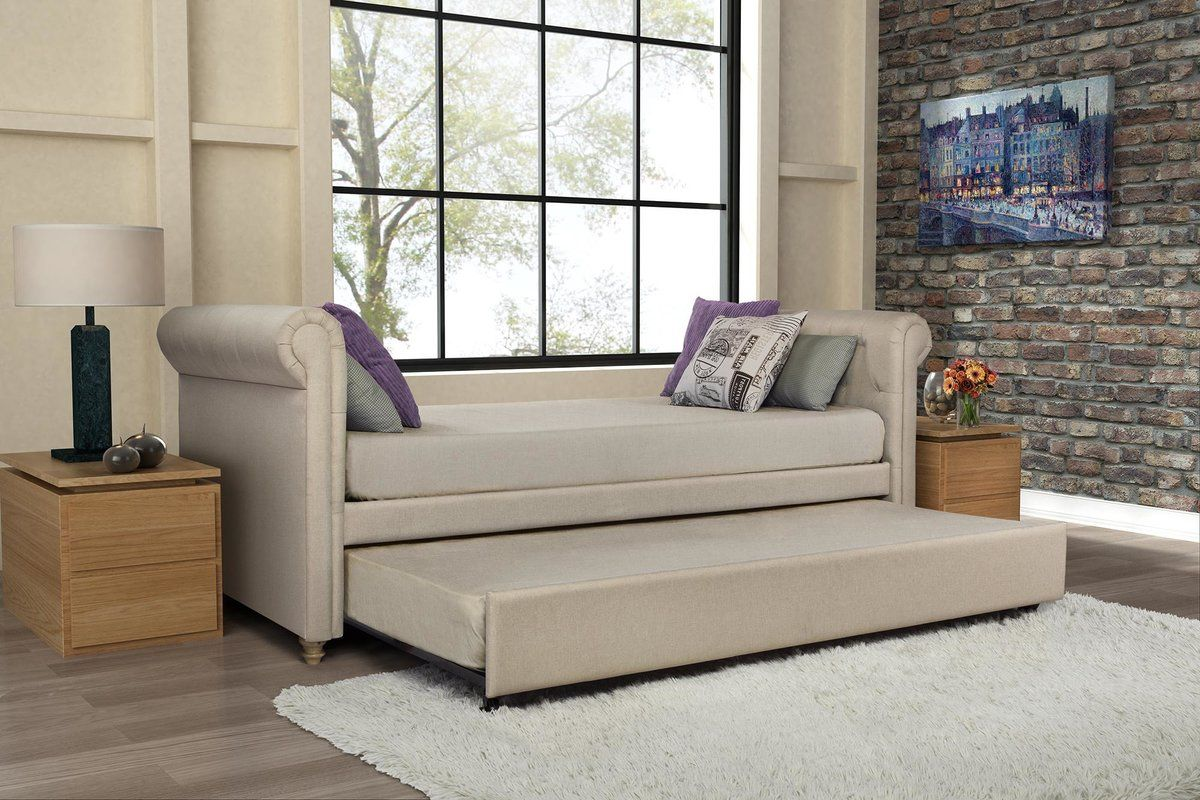 Rossburg Daybed with Trundle Daybed with trundle