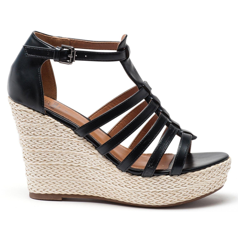 Sandales compensées #Gemo en un flash dans votre panier avec