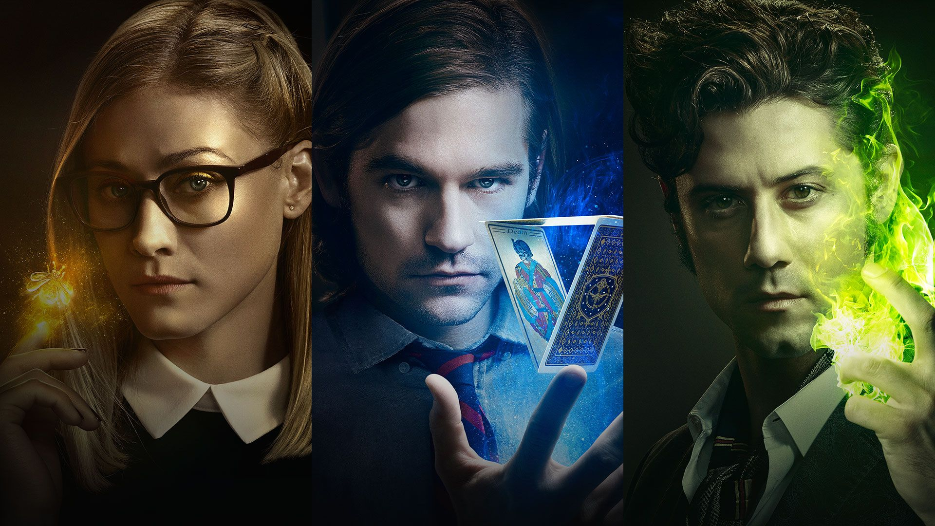 Alice, Quentin, and Elliot-The Magicians!!!!! | The ...