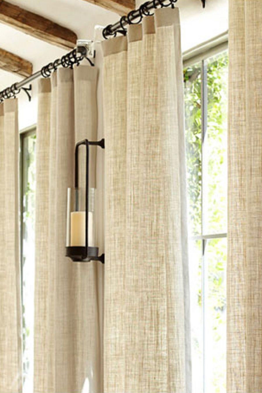 Boho Farmhouse Kitchen Window Treatments