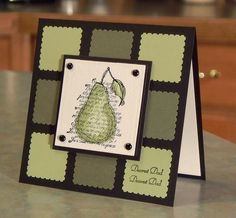 Handmade Stampin' Up Card Birthday or Father's by WhimsyArtCards