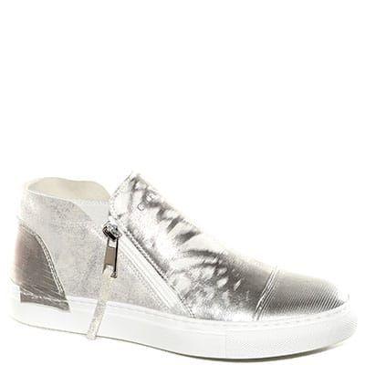 Sneaker con fondo in corda in tessuto fiorato multirosso  b0f496f35e5