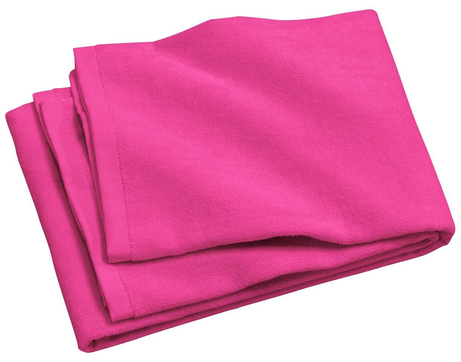Port u company beach towel pt tropical pink products