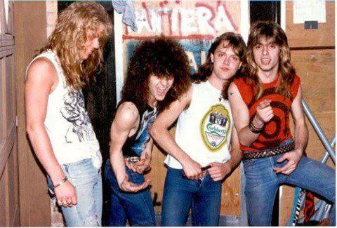 James Hetfield Dimebag Darrell Lars Ulrich Rex Brown M Metallica Dimebag Darrell Pantera Band