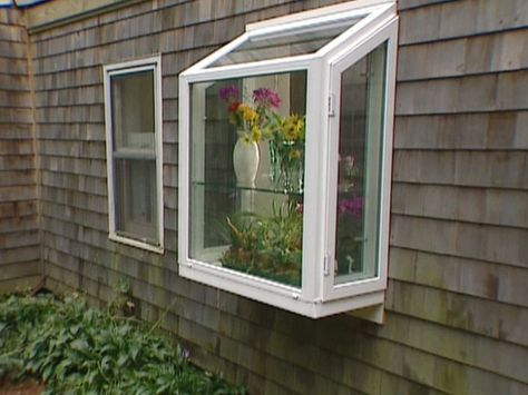 How To Replace An Existing Window With A Garden Window Garden Windows Kitchen Garden Window Window Greenhouse
