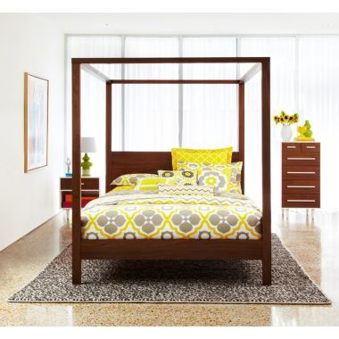 Happy Chic by Jonathan Adler Bleecker Four-Poster Bed - JCPenney ...