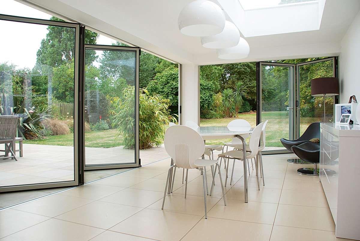 Folding Sliding Glass Patio Doors Alpine House Pinterest Patio