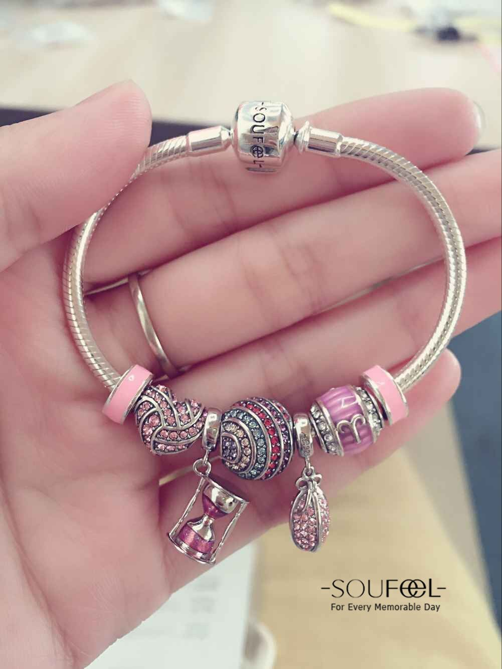 4c3ce7c4d Pink tonal gives us comfortable feeling. Soufeel Jewelry ,for every  morable, Love it.