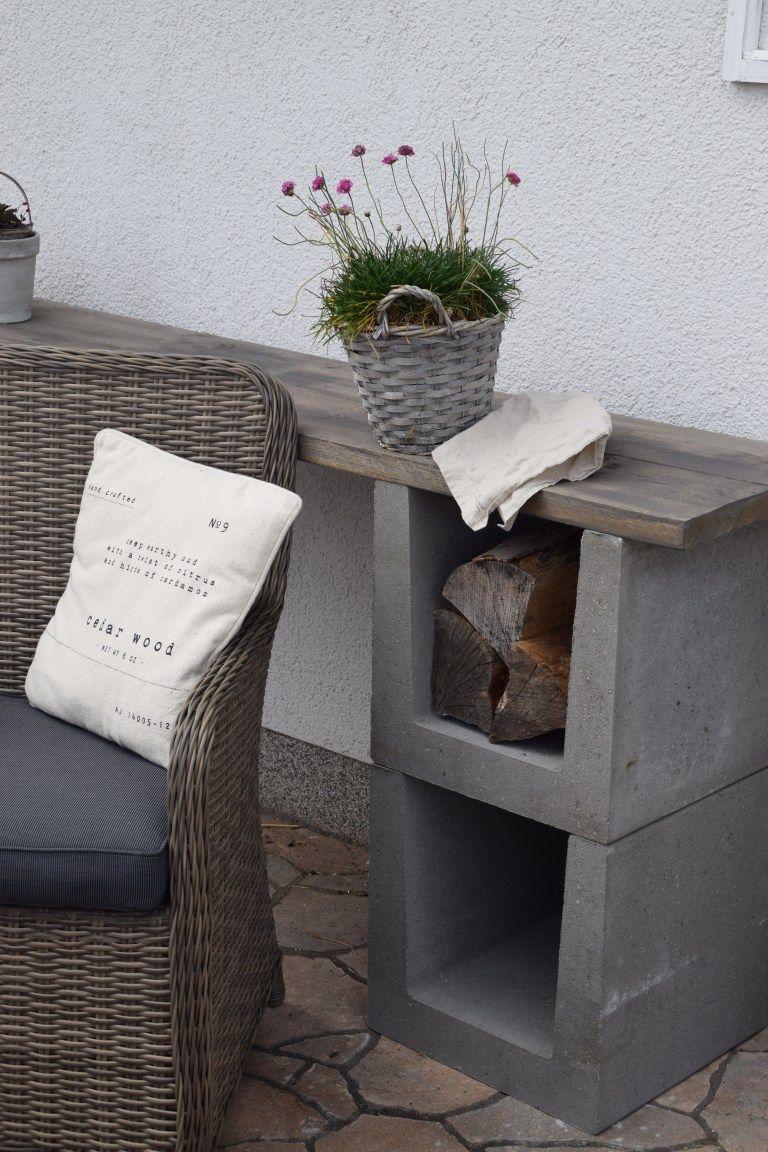 DIY Kommode für den Garten - Elas Dekoideen #modernegärten