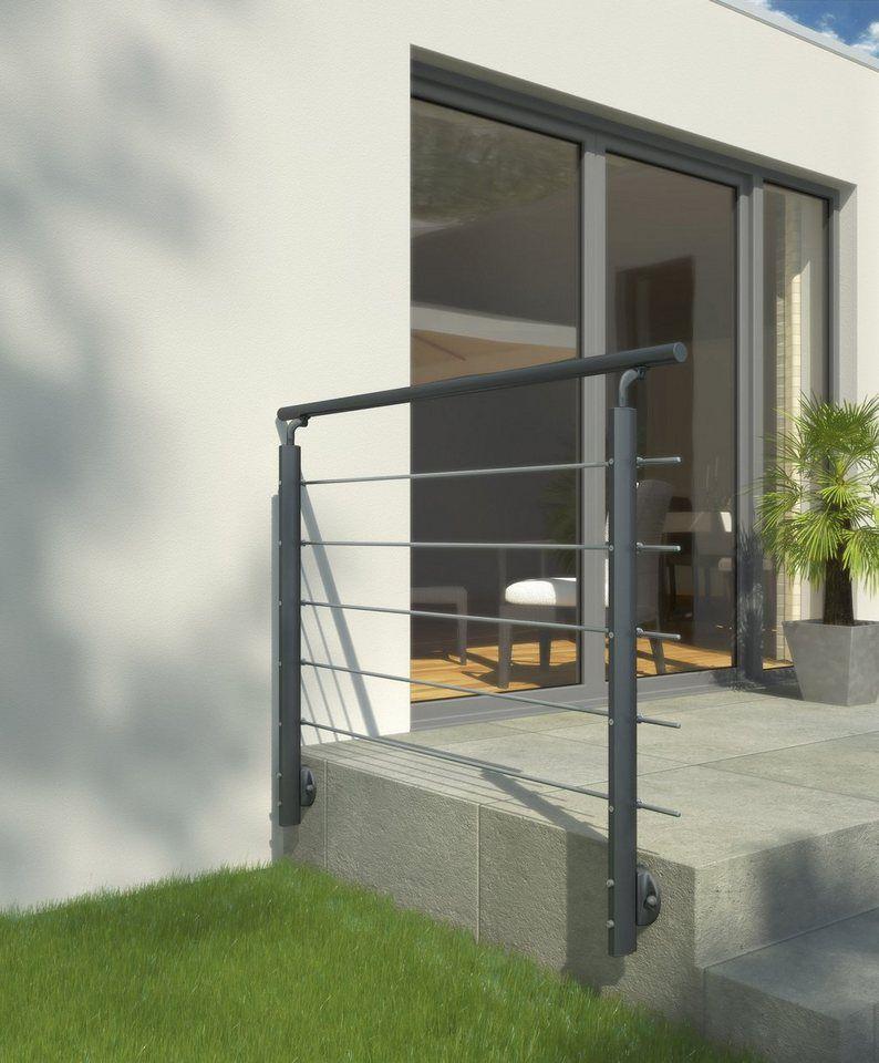 Dolle Gelandersystem 150 Cm Gesamtlange Bodenmontage Online Kaufen Gelander Balkon Terrassen Gelander Treppe