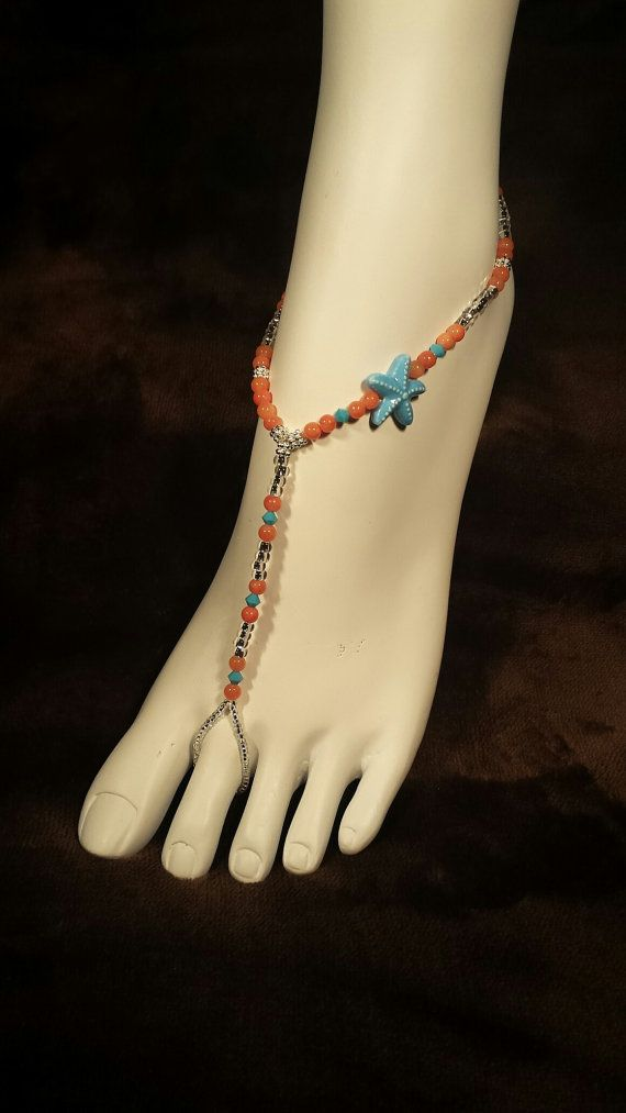 Barefoot Sandals Barefoot Sandles Starfish by SubtleExpressions