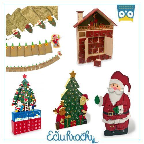 Zabudnite na papierové adventné kalendáre s čokoládkami! http://www.eduhracky.sk/detska-izba/vianoce/
