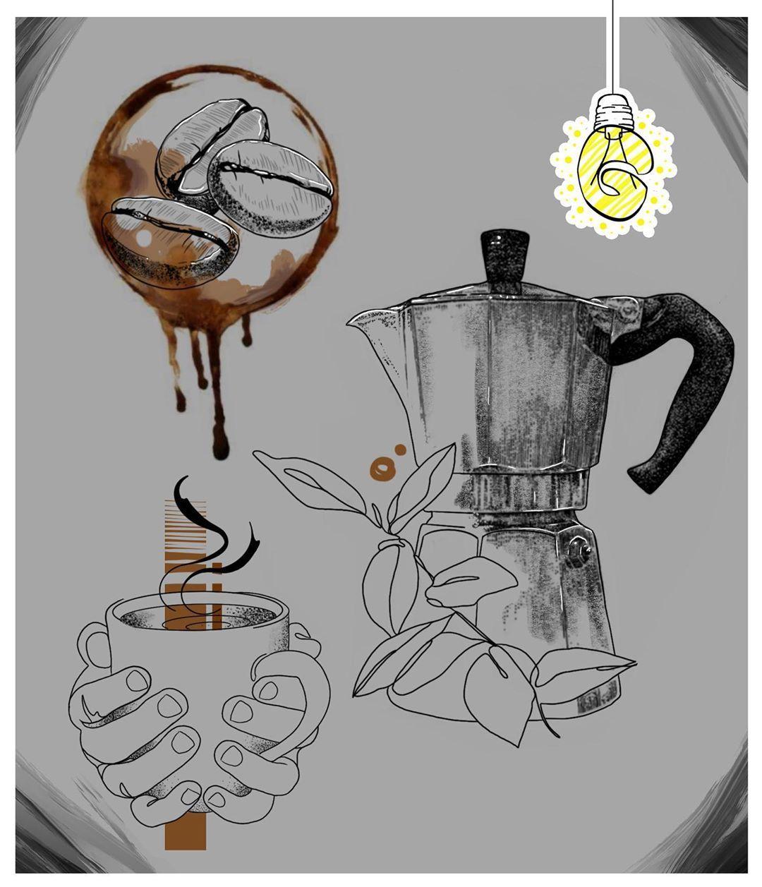 Kawa razy trzy 😍  uwielbiam kawę, a Wy?  #coffeetime #coffee #coffeelover #coffeeart #coffeetattoo #coffeelovers #artofinstagram #flashtattoo #ideafortattoo #tattoo #projecttattoo #tattoodesign #newprojects #grazkaart #polandtattoos #wroclawtattoo #witrynatattoo #ktosieniedziaratenfujara