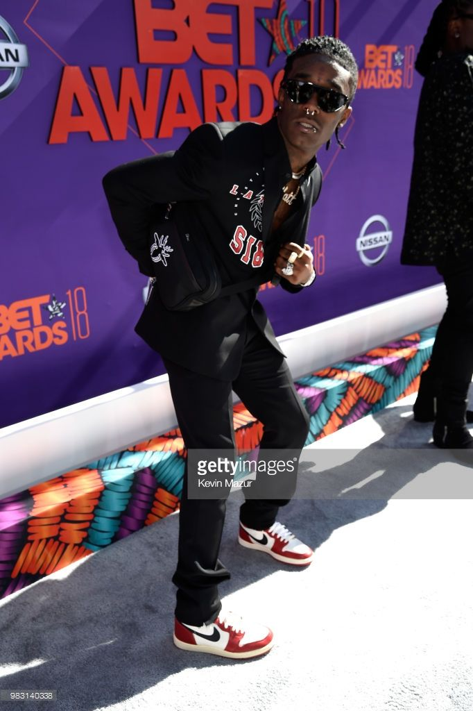 f191f2e52bf4 Lil Uzi Vert attends the 2018 BET Awards at Microsoft Theater on June 24
