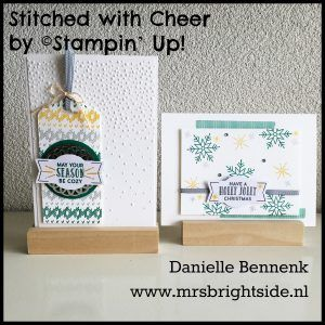 Stitched with cheer duo
