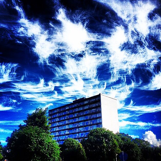 The Netherlands, Leeuwarden, Bilgaard.. One of my sickest #cloud shots! #Cloudporn