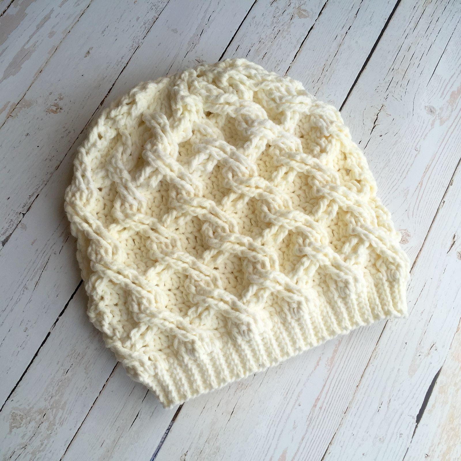 Chain Link Slouch pattern by Crochet by Jennifer | Pinterest ...