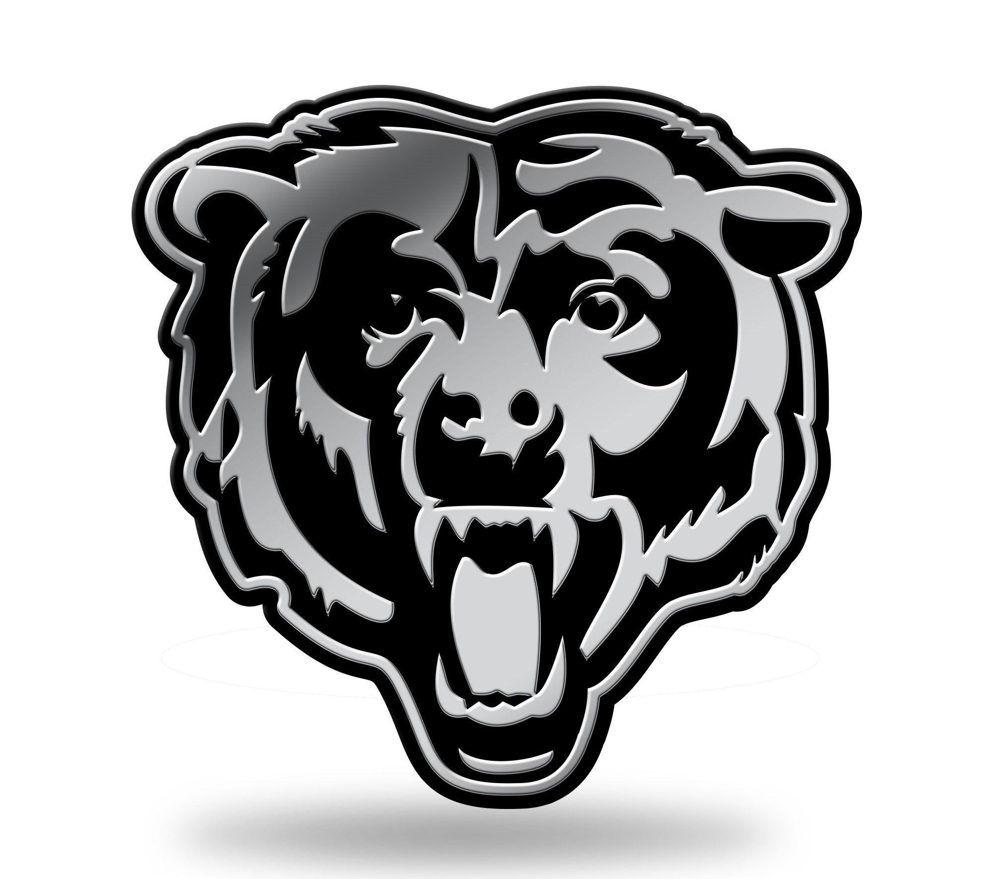 Chicago Bears Head Logo 3D Chrome Auto Emblem NEW!! Truck ...