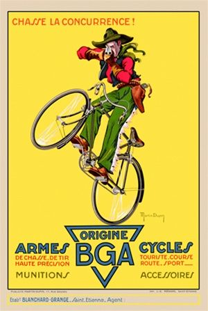 Bga Armes Cycles Bicycles Beautiful Vintage Posters