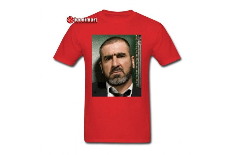 Eric Cantona Picture Cool Men S T Shirts Customized Tee Top Mens Tshirts Custom Tees Eric Cantona
