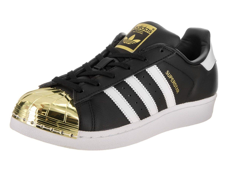 6063e9536d786 Amazon.com | Adidas Women's Superstar Metal Toe Originals Basketball ...