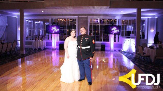 The Bride and Groom before the reception! #UFDJ #Waterviewpavilion #NJWeddingDJ
