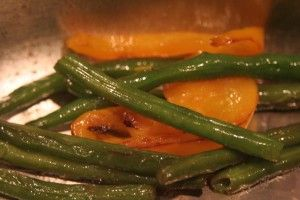 Pan-Seared Green Beans and a Tipping Point