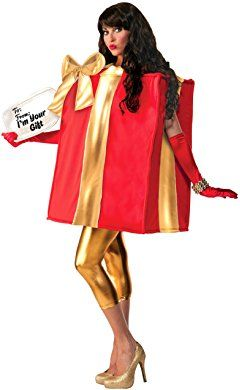Forum Novelties The Gift Costume Christmas Present Costume Box Costumes Christmas Costumes