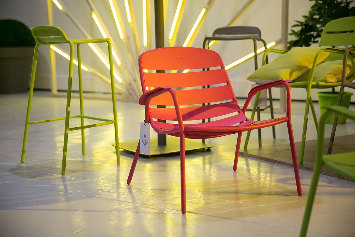 Chaise Et Table De Jardin Collection Hyba Alu 152 Labo Design  # Table De Jardin Hyba