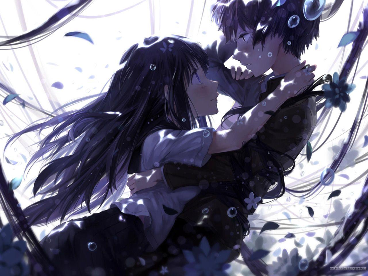 Anime Wallpaper Anime Wallpaper Pinterest Anime Anime Couples